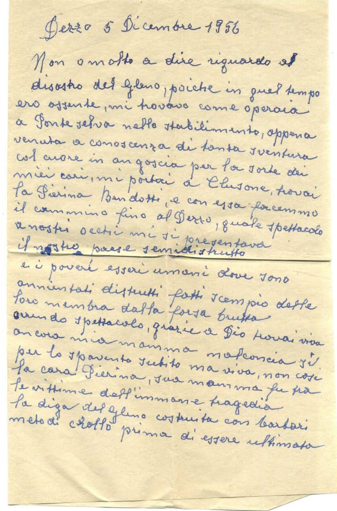 Lettera di Allegris Grandilia