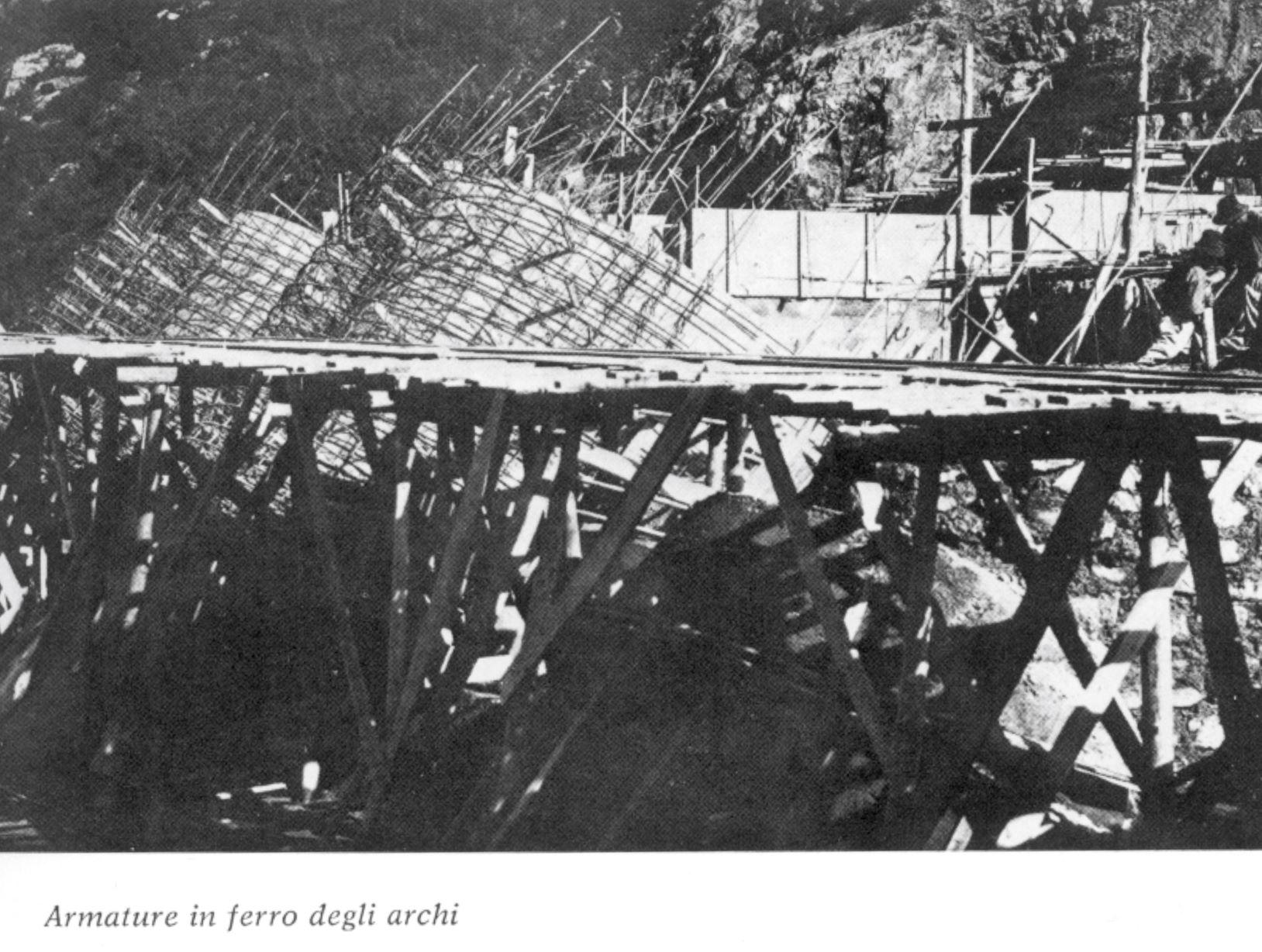Armature in ferro degli archi