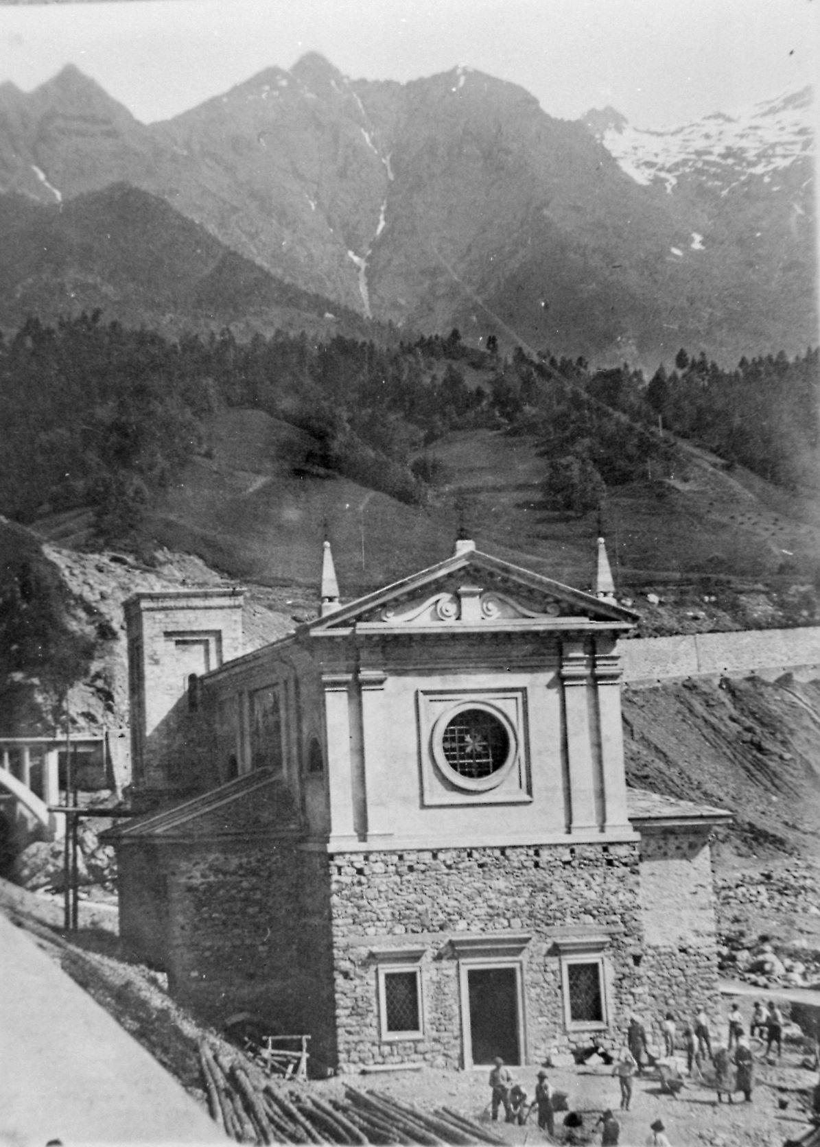 La ricostruzione del Santuario della Madonnina di Colere a Dezzo