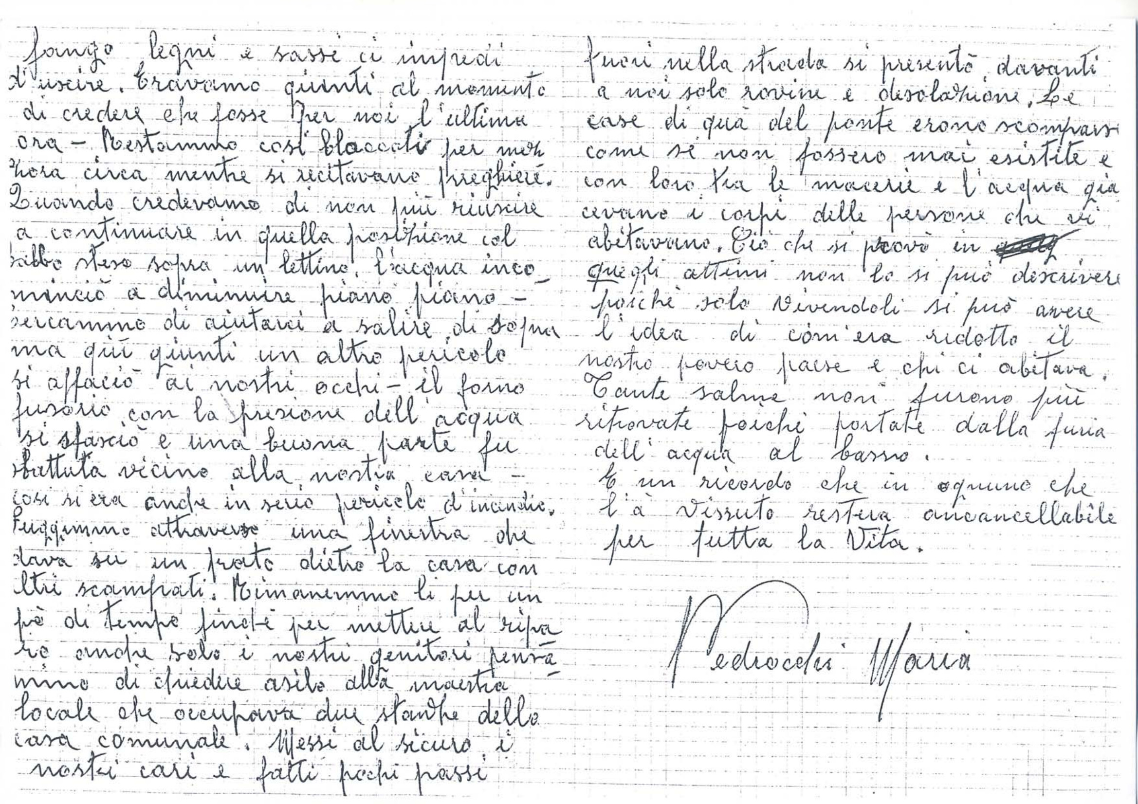 Lettera di Pedrocchi Maria vedova Visinoni_02