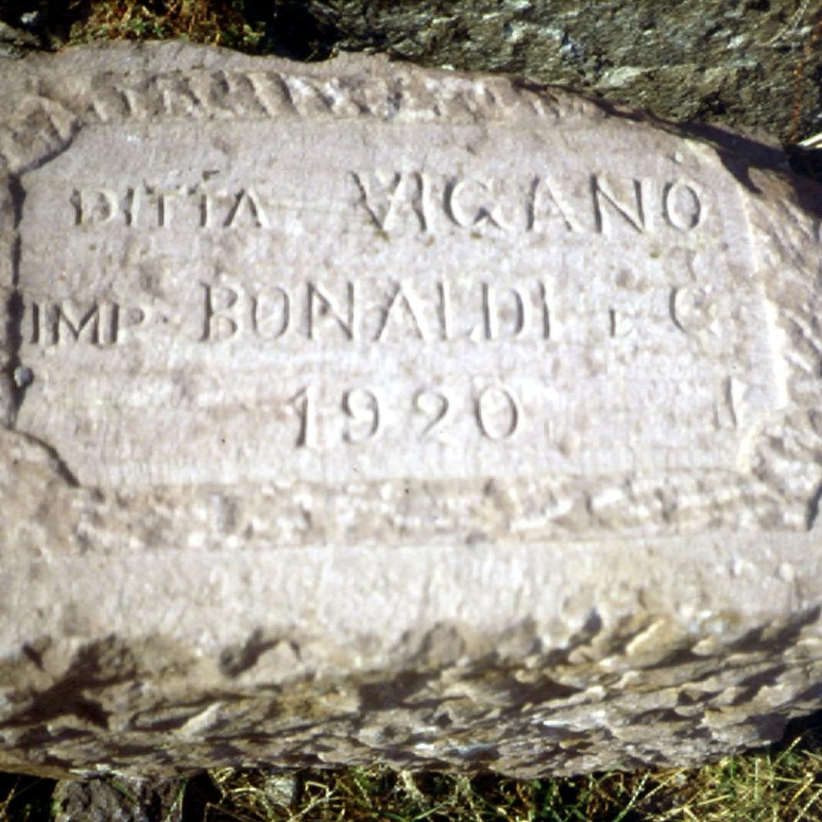 Pietra utilizzata per la costruzione della diga
