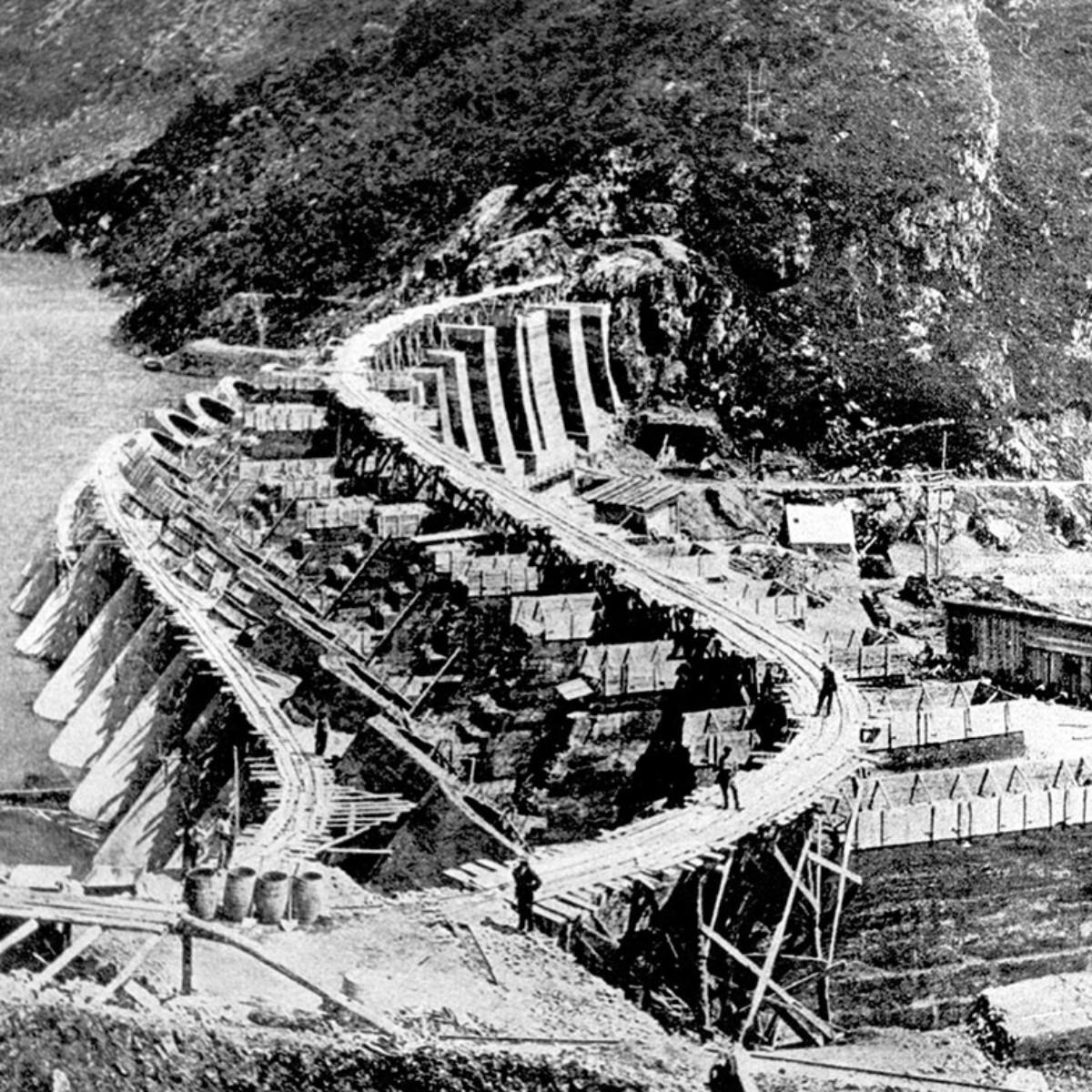 Ultimata la costruzione della diga